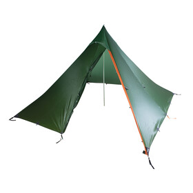 Nigor WickiUp 4 Fly and DAC Pole Willow Bough/Burnt Orange